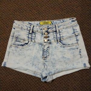 Light Blue Short Size US 7